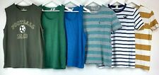Mens T-shirt Top Vest Casual Bundle Jack Wills Hollister Topman F&F Size M UK *C