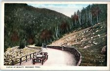 Curve of Beauty, Mohawk Trail,  Through the Berkshire Hills Z20