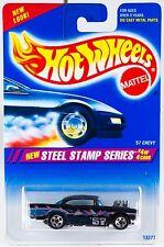 Hot Wheels No. 290 Steel Stamp Series #4 '57 Chevy 5 Spoke Wheels New 1995