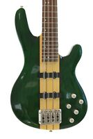 8 String GREEN Electric Bass Guitar With Set Neck & Hardshell Case Davison New