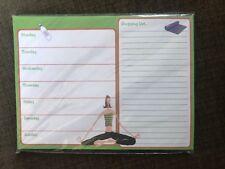 *NEW* Yoga Girl Menu Shopping Magnetic Listpad To Do List