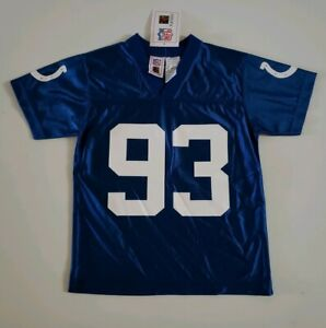 Indianapolis Colts Dwight Freeney #93 Boys S 8 NFL Players Jersey! New!!