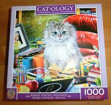 Puzzle   Cat-Ology  Einstein  1000  Teile  Master Pieces  VOLLSTÄNDIG