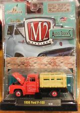 M2 Machines 1:64 Scale Auto Trucks 1956 Ford F-100 Tom Davis Farms - FREE SHIP