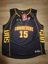 Connecticut Sun #15 WNBA Basketball adidas Jersey Women's XXL 2XL NEW