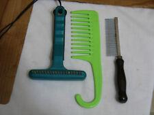 Three Pet Combs