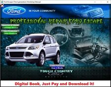 FACTORY REPAIR SERVICE MANUAL FORD ESCAPE 2013-2016