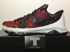 "Nike KD 8 Ext ""red Floral"" ~ 806393 004 ~ UK Size 15"