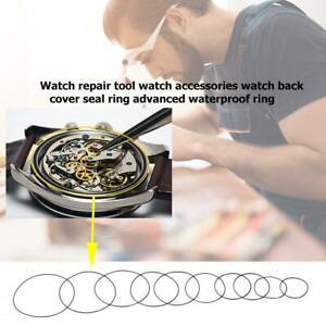 200pcs Waterproof O-Ring Watch Back Seal Cover Gaskets Watch Repair Tool