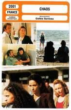 FICHE CINEMA : CHAOS - Lindon,Frot,Wiik,Serreau 2001