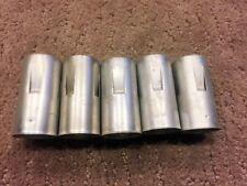 Lot of (5) Vintage 9 Pin Vacuum Tube Shield 12AX7 12AU7 12AT7 & Many More!