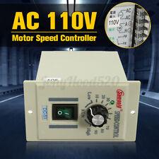 Ac 110v 400w Motor Speed Controller Electric Speed Regulator Dc 0 90v Adjustable