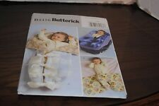 Butterick B 4416 Sewing Pattern for Fleece Baby Wrap, Bunting and Carrier Cover