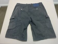 119 MENS EX-COND G-STAR RAW RELAXED CHAR WASH CARGO SHORTS SZE 34 $160 RRP.