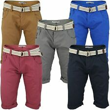 Lange Herren-Cargo-Shorts aus Baumwolle mit normaler Passform
