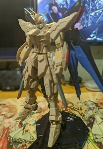 MG 1/100  Strike Freedom Gundam with MS Build resin Kit Model kit (built)