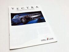 1999 Opel Vectra July 99 Accessories i-Line Brochure