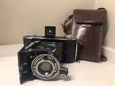 Vintage Agfa Folding Camera w Agfa Anastigmat Apotar Lens 1:4.5/10.5 #893926