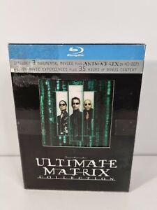 The Ultimate Matrix Collection - Genuine Region B Blu Ray Box Set