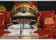 Luca Badoer Ferrari F1 Test Driver Portrait Signed Photograph 5