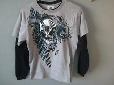 NEW SKULL AND GUITAR MAD ENGINE TEE YOUTH SIZE M MEDIUM 68WC