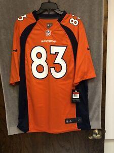 Nike Denver Broncos Wes Welker #83 NFL Football Jersey Men's Sz L NWT $100
