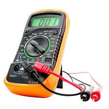 LCD XL830L Volt Meter EXCEL Digital Multimeter Ammeter Ohmmeter Tester Yellow