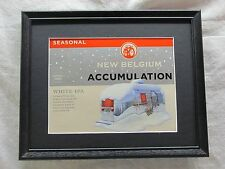 NEW BELGIUM ACCUMULATION BEER SIGN  #1128
