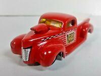 Hot Wheels 1999 '40s Ford Truck Red Pickup 5-Spoke Wheels 1/64 #1029 1/64 Loose