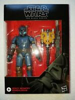 "STAR WARS BLACK SERIES 6"" DELUXE: HEAVY INFANTRY MANDALORIAN  #D2"