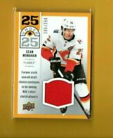 D11587 2018-19 Upper Deck 25 Under 25 Jersey Sean Monahan #105/250