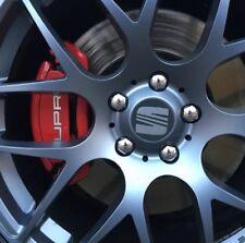 SEAT Wheel Centre Hub Cap Stickers x4 40-90mm Leon FR Ibiza Exeo Cupra Fast P&P