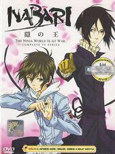 DVD NABARI No OU THE NINJA WORLD IS AT WAR Complete Tv Series (English Version)