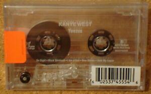 KANYE WEST - Yeezus - clear cassette tape album - RARE/NEW/SEALED