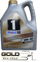 0W 40 Mobil 1 FS 5 Liter Motoröl Mercedes VW  PORSCHE 0W-40 Mobil