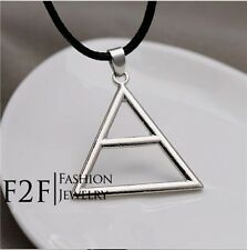 30 Seconds To Mars Triad Silver Triangle Jared  Necklace/Pendant in a gift box