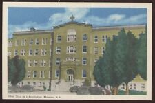 Postcard MONCTON New Bruswick/CANADA  Hotel Dieu De L'Assomption view 1940's