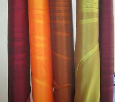 IRIDESCENT SILK CHIFFON Silk Fabric Sample Set Remnants Lot