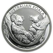 2011 1 oz Silver Australian Koala Coin - Brilliant Uncirculated - SKU #59018