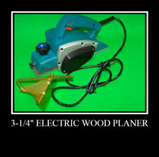 "3-3/4"" Electric Wood Planer Woodworking Power Tools"