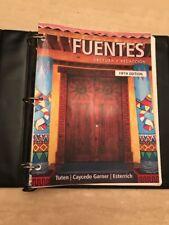 Fuentes Lectura y Redaccion and Conversaicon y Gramatica Both Books