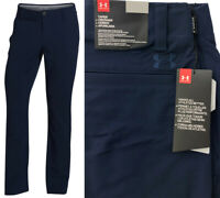 Under Armour UA Matchplay Tapered Golf Trousers - RRP£65 - ALL SIZES - Navy