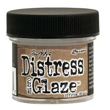 Distress Micro Glaze 1oz Water resistant sealer for paper crafts inkjet printing