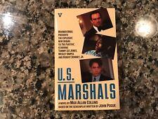 U.S. Marshals Movie Tie In Paperback Book! 1998
