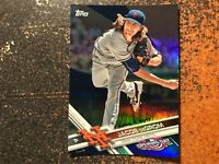 Jacob DeGrom Mets 2017 Topps Opening Day BLUE FOIL PARALLEL #71
