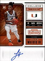 2018-19 Panini Contenders Draft Picks Basketball Autograph Singles-Pick Ur Cards