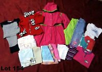 Lot vêtements Fille 5 Ans Manteau d'été Veste Pantalon Pyjamas Shorts T-Shirts