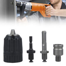 4 In 1 13mm 12 Unf Drill Chuck Sds Plus Shank Adaptor Socket Hex Converter