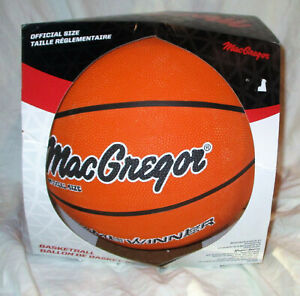 MacGregor Game Winner Official Size Basketball NEW