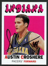 Austin Croshere #159 signed autograph auto 2000-01 Topps Heritage Basketball